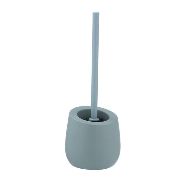 Keramický toaletní kartáč Wenko Badi Blue-Grey