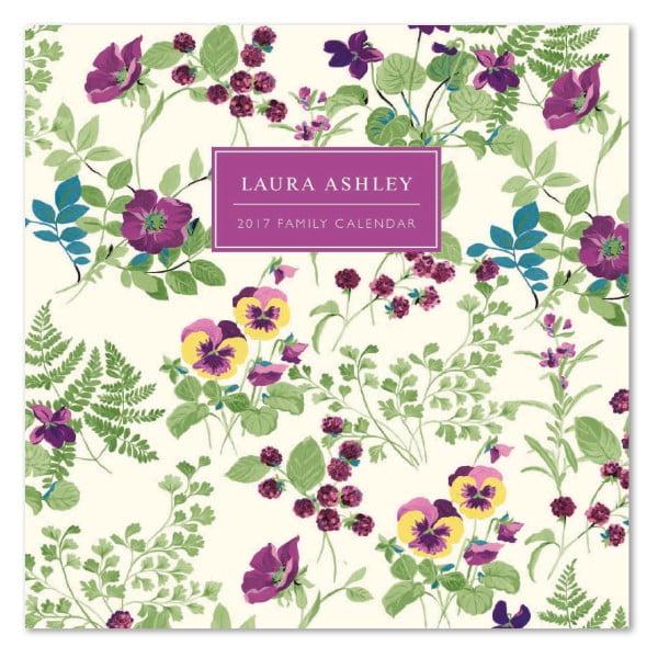 Rodinný kalendář Portico Designs Laura Ashley