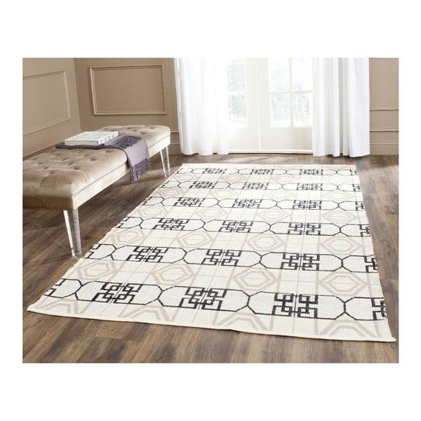 Odolný koberec z recyklovaného plastu vhodný i do exteriéru Safavieh Cal, 121x182cm