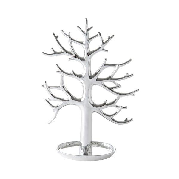 Keramická dekorace Tree Silver