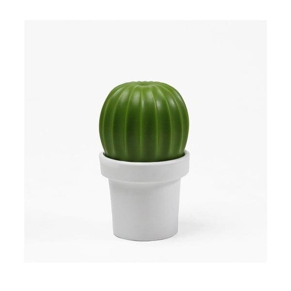 Râșniță sare/piper Qualy&CO Tasty Cactus, verde-alb