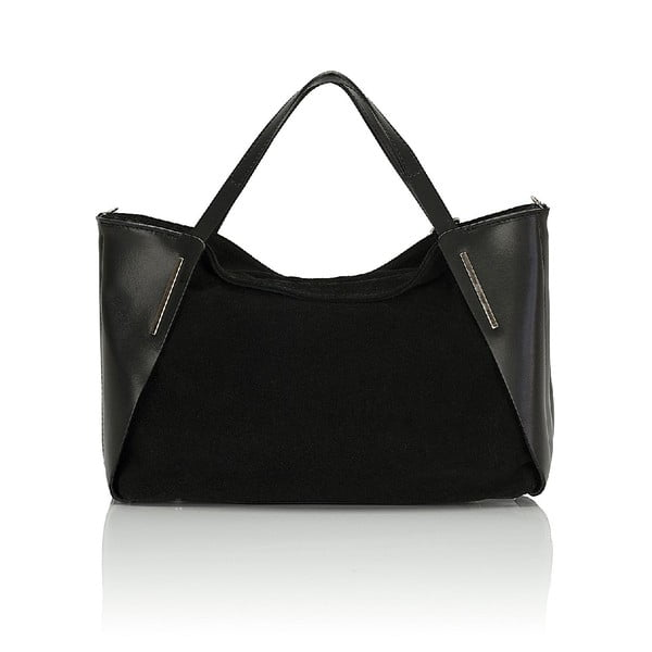 Kožená kabelka Giorgio Costa 15012 Black