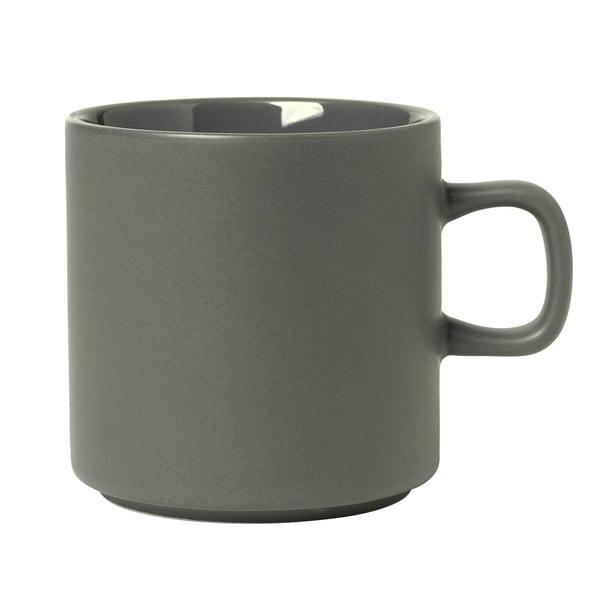 Sivý hrnček na čaj Blomus Pilar,250ml