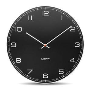 Skleněné nástěnné hodiny Arabic, 45 cm
