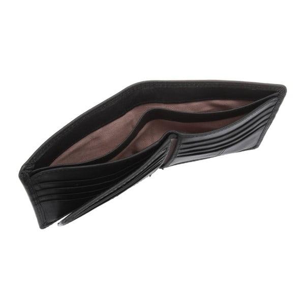 Kožená peněženka Benedict Oxford Black