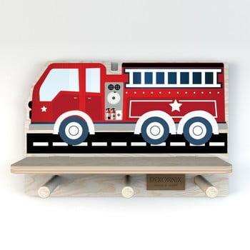 Raft de perete Dekornik, mașină pompieri imagine