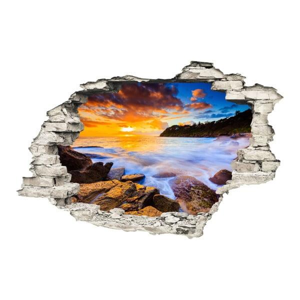 Západ Slunce falmatrica, 60 x 90 cm - Ambiance