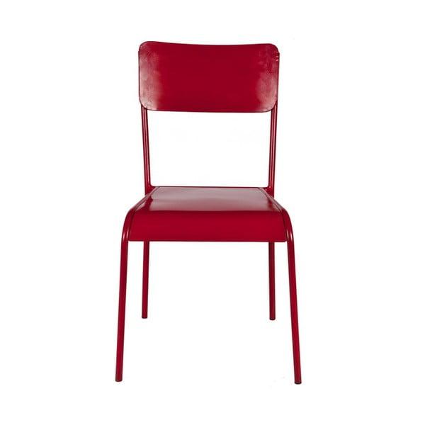 Židle Antique, červená