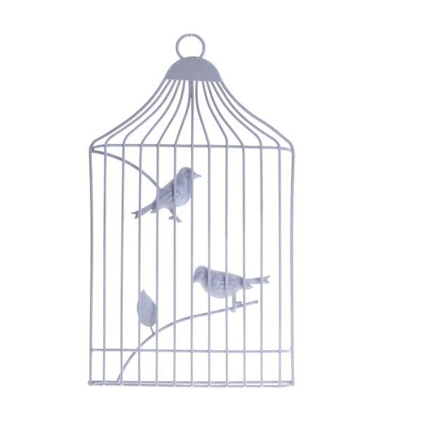 Závěsná dekorace Ptáčci v kleci