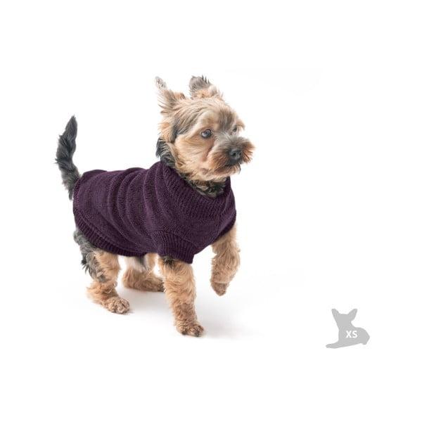 Fialový svetrík pre psov Marendog Trip, veľ. XS