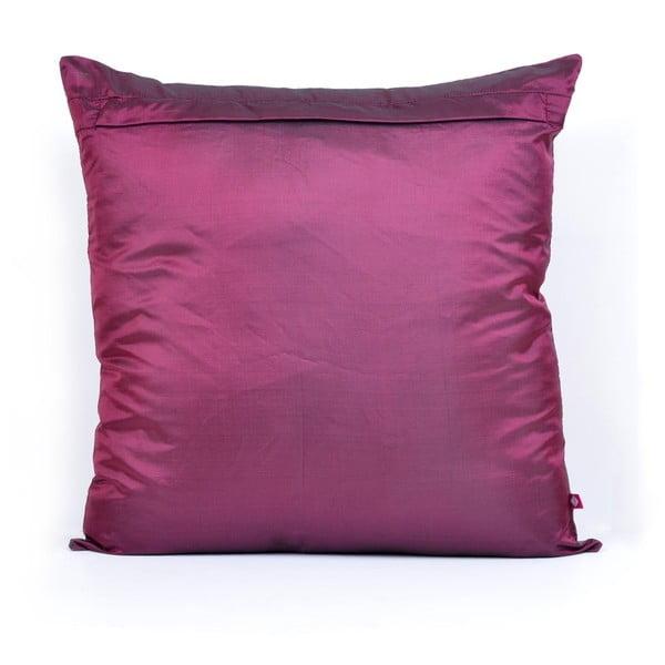 Povlak na polštář Tamara Bidri Pink Peacock Feather