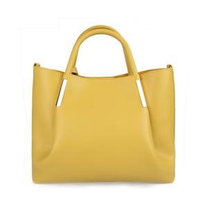 Žlutá kabelka z eko kůže Beverly Hills Polo Club Frederica