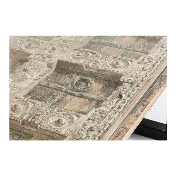 Jídelní stůl s deskou z mangového dřeva Kare Design Kalif, 180x90cm