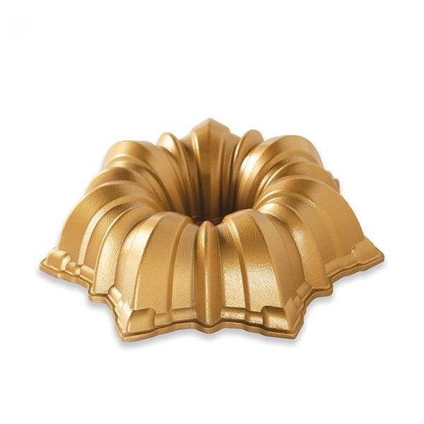 Formă pentru guguluf Nordic Ware Solera, 1,2 l, auriu