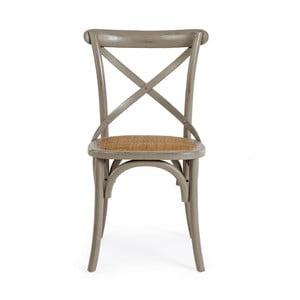 Šedá jídelní židle Bizzotto Cross