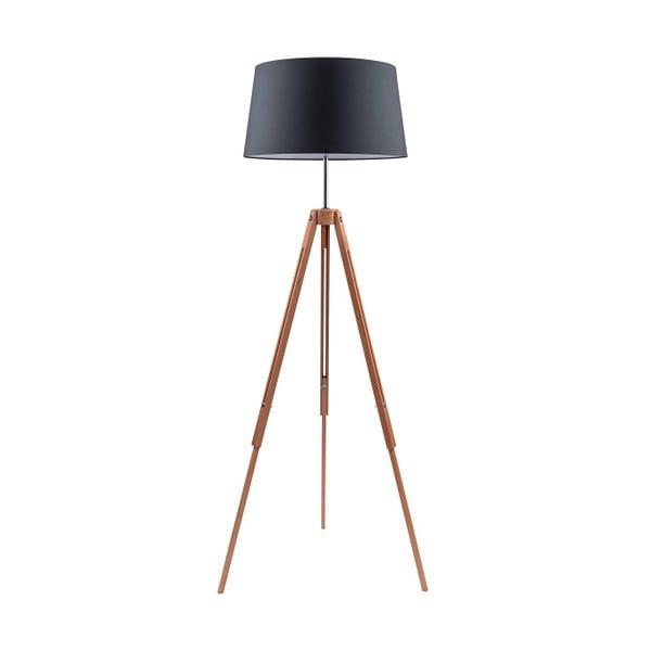 Černá stojací lampa BRITOP Lighting Tripod Britop