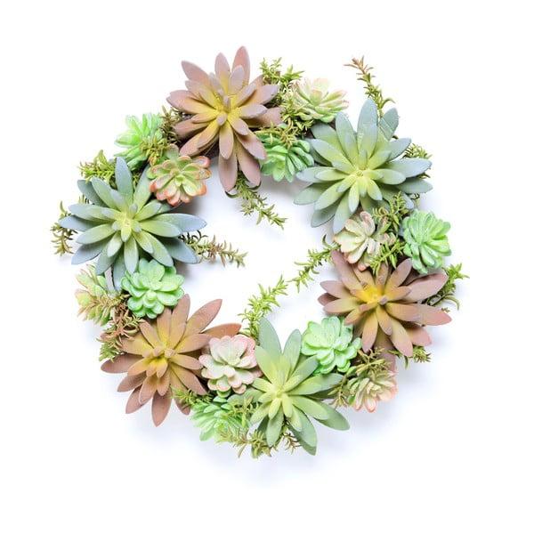 Věnec z umělých sukulentů Urban Botanist Wreath