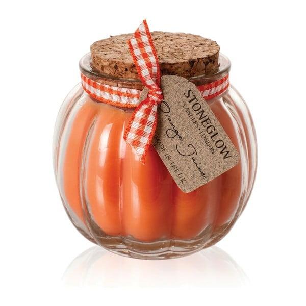 Svíčka Fruit Pots, pomeranč
