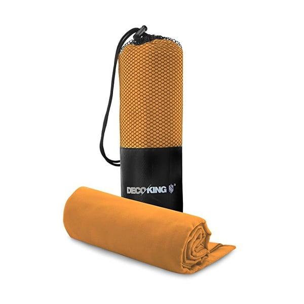 EKEA gyorsan száradó narancssárga törölköző és hagyományos törölköző szett - DecoKing