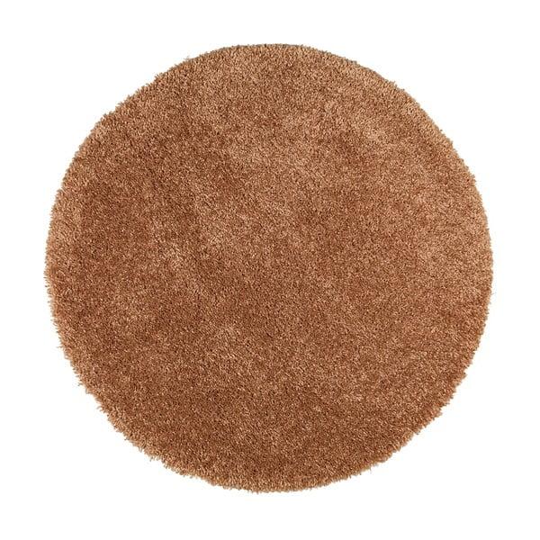 Hnědý koberec Universal Aqua Liso, ø80cm