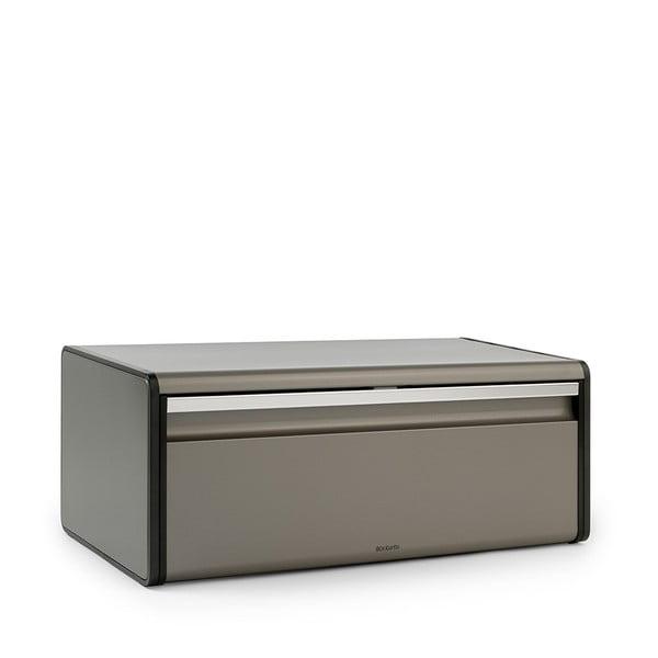 Cutie pentru pâine Brabantia Fall Front Platinum