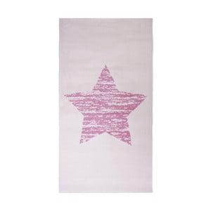 Dětský růžový koberec Nattiot Lucero, 80x150cm