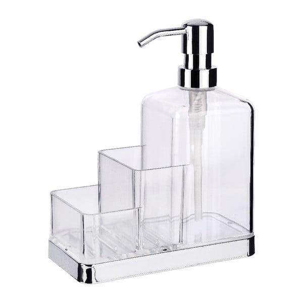 Suport pentru burete și dispenser pentru detergent Wenko Clarido