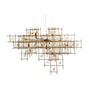 Stropní svítidlo ve zlaté barvě Kare Design Mobile