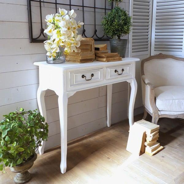 Konzolový stolek White Classic Milano
