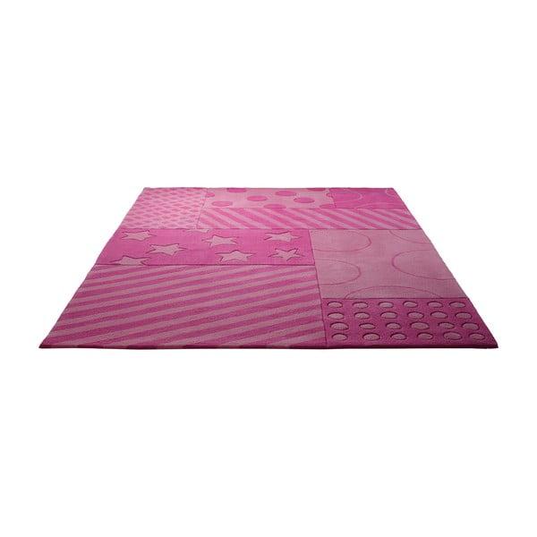Koberec Esprit Stars Stripes Pink, 90x160 cm