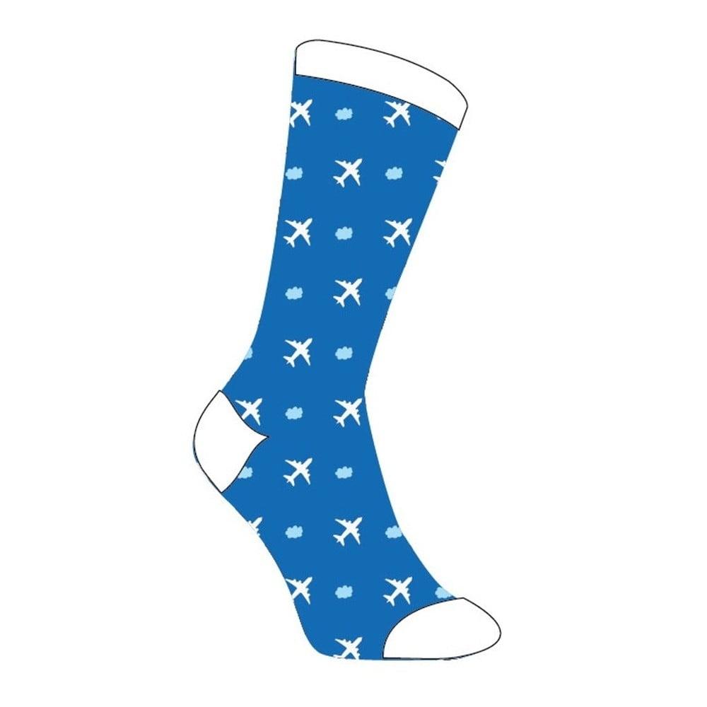 Unisex ponožky Fisura Calcetines Chico Planes