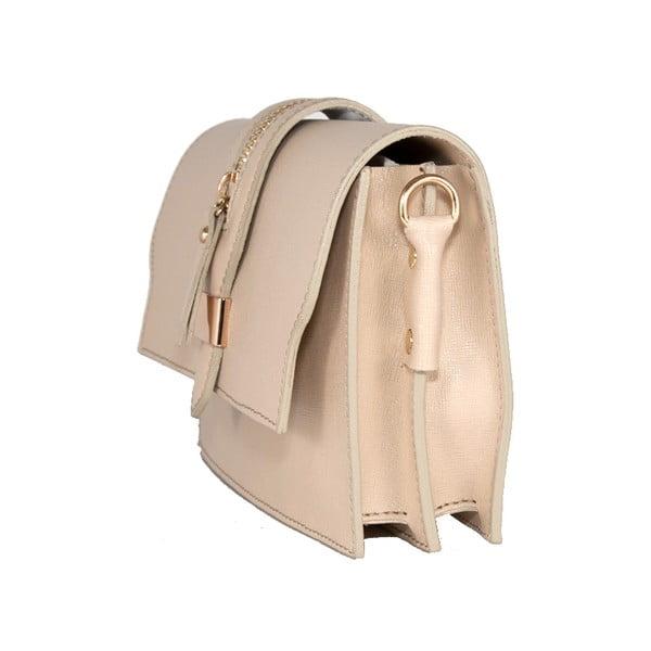 Kožená kabelka Andrea Cardone 2019 Beige