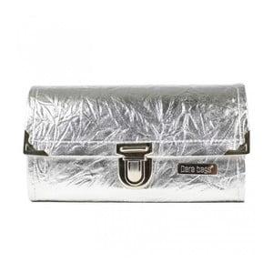 Peněženka ve stříbrné barvě Dara bags Purse Big No.761