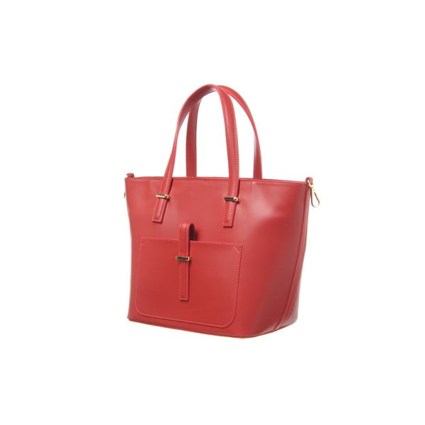 Kožená kabelka Mood Red