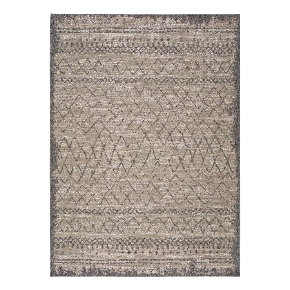 Béžový venkovní koberec Universal Devi Line, 120 x 170 cm