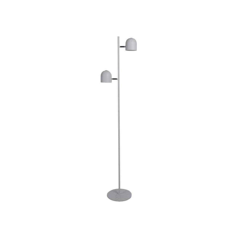 Bílá stojací lampa Leitmotiv Delicate