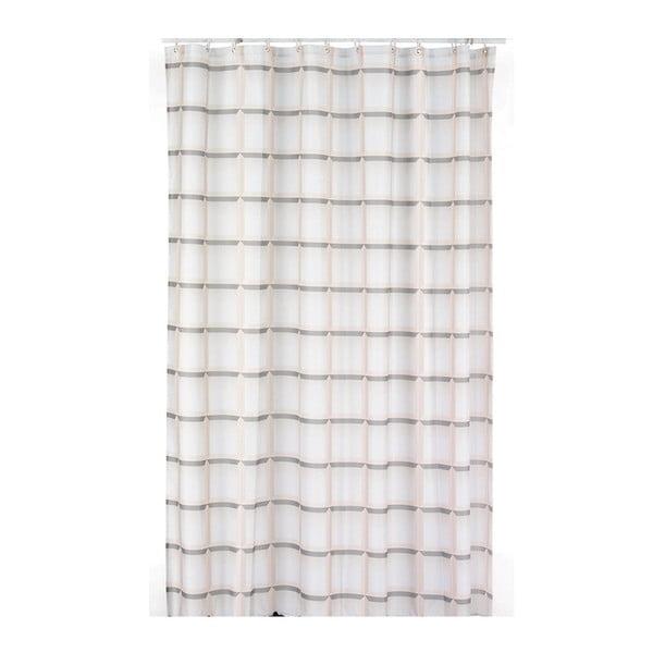 Sprchový závěs Lamara, béžový, 180x200 cm