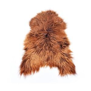 Ovčí kožešina s dlouhým chlupem Rusty, 110x60 cm