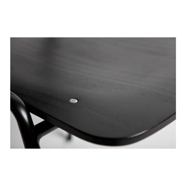 Černá jídelní židle BePureHome Seminary