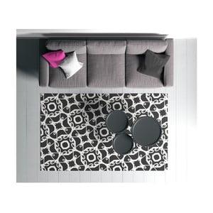 Černo-bílý koberec Oyo home Suzzo Smielo, 100 x 150 cm