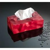 Cutie pentru batiste de hârtie Wipy II Red