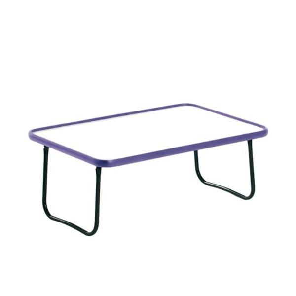Skládací snídaňový podnos Bed Tray, lila