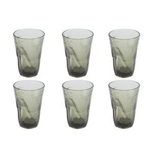 Sada 6 sklenic Kaleidos 340 ml, šedá