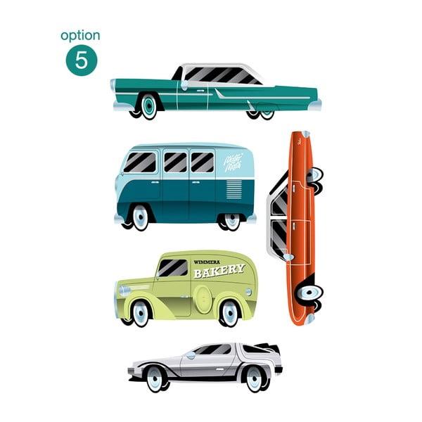 Znovu snímatelná samolepka Highway Minis 05