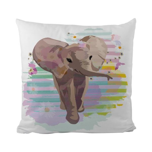 Polštář Little Elephant, 50x50 cm