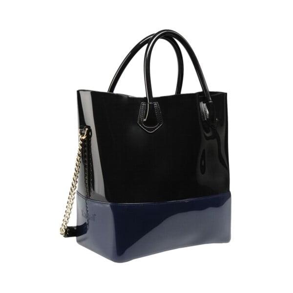 Kabelka Grace K Shopper, modrá/černá