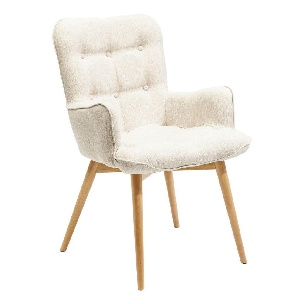 Bílá židle s područkami Kare Design Angel Wings