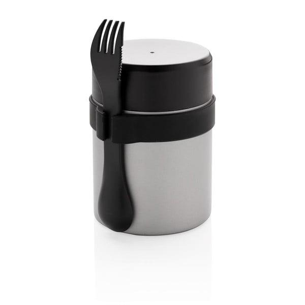 Pojemnik na żywność ze stali nierdzewnej ze sztućcami XD Collection