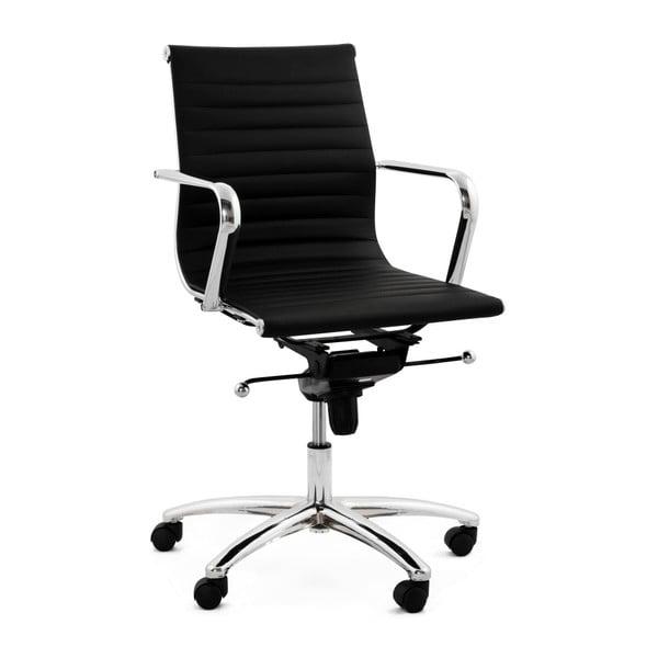 Czarny fotel biurowy Kokoon Michelin
