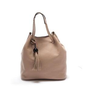 Světle růžová kožená kabelka Isabella Rhea Sorbus